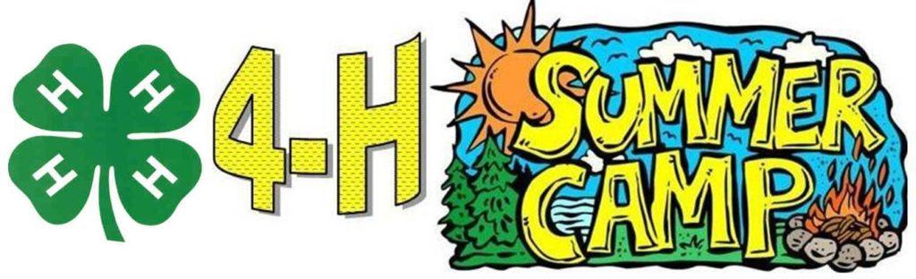 4-H Summer Camp Banner